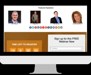 CustomZoomPages Speaker Spotlight & Social Share Theme image